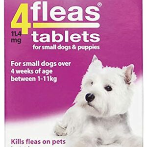 4fleas small dog 3 pack